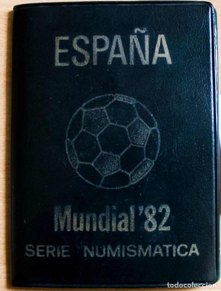 CARTERA SERIE ESPAÑA 82 JUAN CARLOS I, 1980 *81 SIN CIRCULAR (Numismática - España Modernas y Contemporáneas - Juan Carlos I)