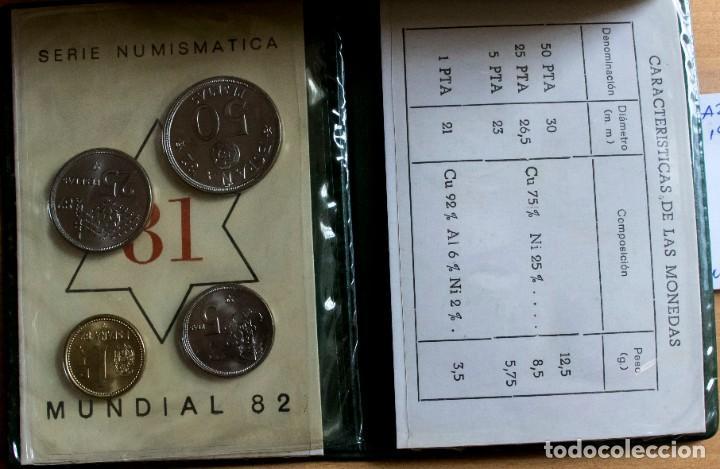 Monedas Juan Carlos I: CARTERA SERIE ESPAÑA 82 JUAN CARLOS I, 1980 *81 SIN CIRCULAR - Foto 3 - 264207728