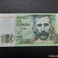 Monedas Juan Carlos I: BILLETE DE 1000 PESETAS DEL AÑO 1979.BENITO PEREZ GALDOS.S/C. PLANCHA!!. Lote 221708827
