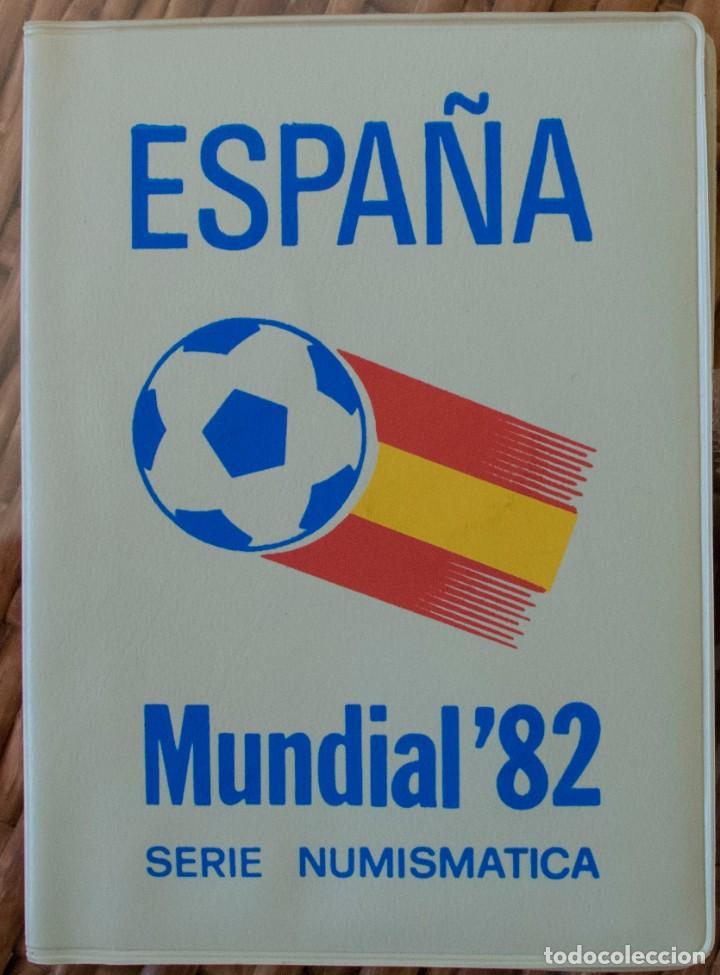 CARTERA SERIE ESPAÑA 82 JUAN CARLOS I, 1980 *82 SIN CIRCULAR (Numismática - España Modernas y Contemporáneas - Juan Carlos I)