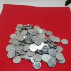 Monete Juan Carlos I: GRAN LOTE MONEDAS UNA PESETA JUAN CARLOS. Lote 221939987
