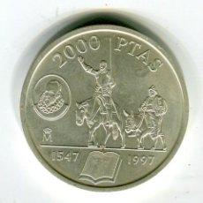 Monedas Juan Carlos I: 2000 (DOS MIL) PESETAS JUAN CARLOS I AÑO 1997 PLATA NO HA CIRCULADO. Lote 222086930