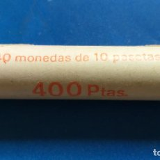 Monedas Juan Carlos I: CARTUCHO 40 MONEDAS DE 10 PESETAS. AÑO 1983. SIN CIRCULAR. JUAN CARLOS I. Lote 222459695