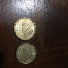 Monedas Juan Carlos I: 2 MONEDAS 100 PESETAS 1999. SIN CIRCULAR. FLOR DE LIS ARRIBA Y ABAJO.. Lote 222473280