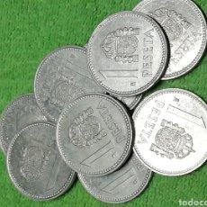 Monedas Juan Carlos I: LOTE 9 PESETAS DE 1983 DEL REY DE ESPAÑA JUAN CARLOS I. Lote 222502253