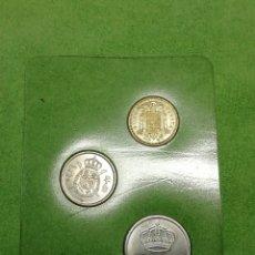 Monedas Juan Carlos I: LOTE CARTERA DE 1977 DEL REY DE ESPAÑA JUAN CARLOS I SIN CIRCULAR. Lote 222503221