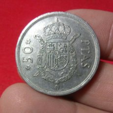 Monedas Juan Carlos I: MONEDA JUAN CARLOS I ,50 PESETAS 1975 *79. Lote 222517262