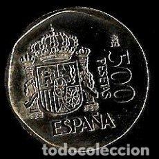 Monnaies Juan Carlos I: MONEDA DE 500 PESETAS - JUAN CARLOS I - 1989. Lote 222642362
