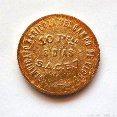 Monedas Juan Carlos I: GUERRA CIVIL . MONEDA 10 PESETAS ELCHE . 1936-1939 . RÉPLICA. Lote 222681061