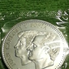 Monedas Juan Carlos I: 2000 PESETAS DEL 2001 EN PLATA DE LEY 925 MILÉSIMAS SIN CIRCULAR. Lote 222707615