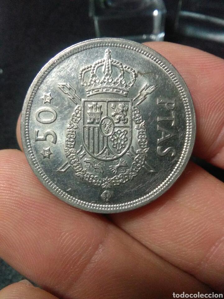 MONEDA 50 PESETAS JUAN CARLOS I 1975*79 (Numismática - España Modernas y Contemporáneas - Juan Carlos I)