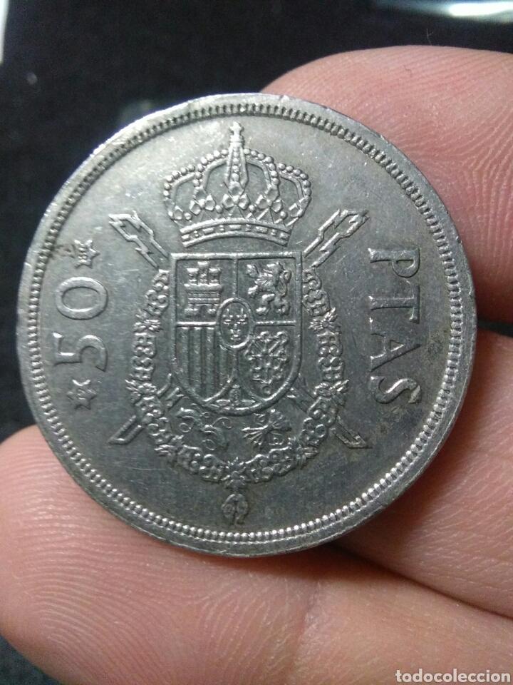 Monedas Juan Carlos I: Moneda 50 pesetas 1975 *80 Juan Carlos I - Foto 4 - 222728452