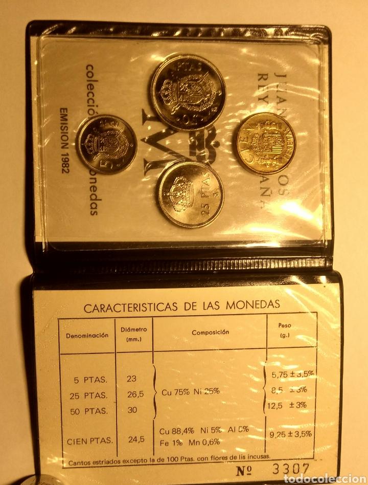 Monedas Juan Carlos I: Cartera ANE. 1982 *82 Juan Carlos I. - Foto 3 - 149385289