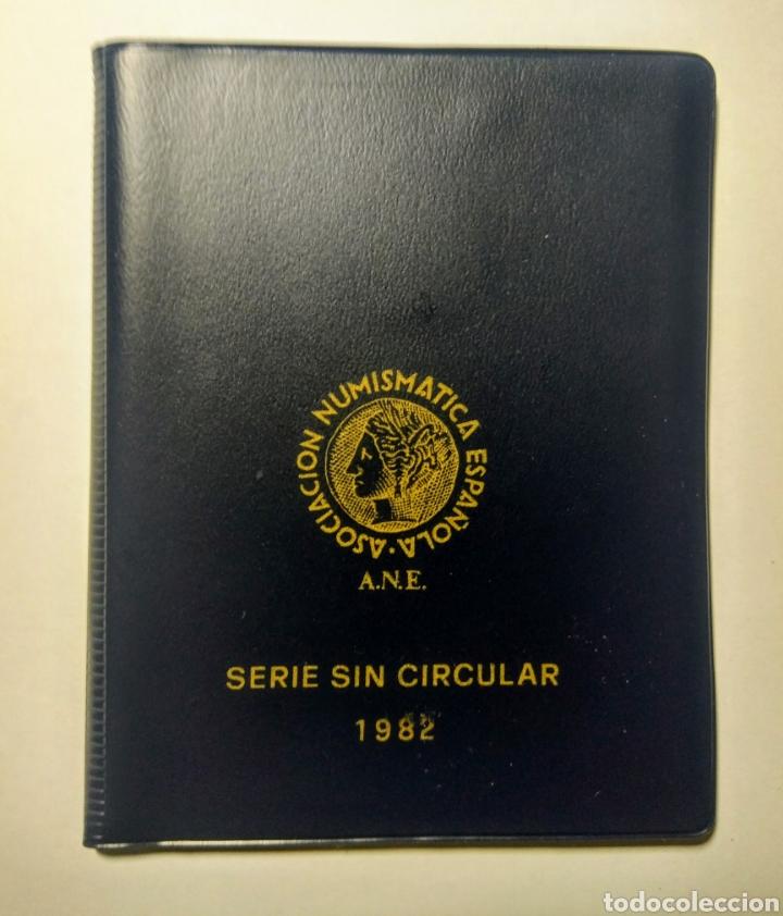CARTERA ANE. 1982 *82 JUAN CARLOS I. (Numismática - España Modernas y Contemporáneas - Juan Carlos I)