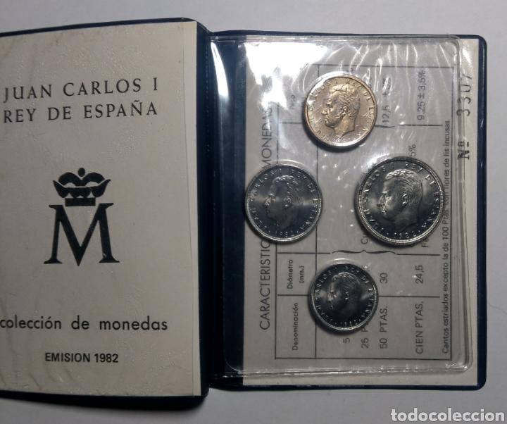 Monedas Juan Carlos I: Cartera ANE. 1982 *82 Juan Carlos I. - Foto 2 - 149385289