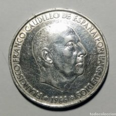 Monedas Juan Carlos I: 100 PESETAS PLATA. 1966 *66. Lote 222835448