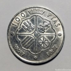 Monedas Juan Carlos I: 100 PESETAS PLATA. 1966 *66. Lote 222836563