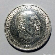 Monedas Juan Carlos I: 100 PESETAS PLATA. 1966 *66. Lote 222843551