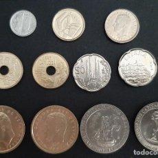 Moedas Juan Carlos I: COLECCION MONEDAS PESETAS 1992 NUEVAS SIN CIRCULAR ORIGINAL. Lote 254054015