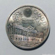 Monedas Juan Carlos I: 1995. 2000 PESETAS PLATA. JUAN CARLOS I. SC.. Lote 223753051