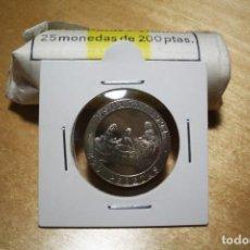 Monedas Juan Carlos I: LUK. 200 PESETAS 1994 SIN CIRCULAR SACADO DE CARTUCHO. Lote 223977832