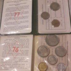 Monedas Juan Carlos I: PRUEBAS NUMISMATICAS, AÑOS 1976 Y 1977. Lote 224251036