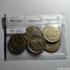 Monedas Juan Carlos I: LOTE 5 MONEDAS DE 5 PESETAS, DIFERENTES AÑOS.1989,1990,1991,1992 Y 1998.JUAN CARLOS I.CIRCULADAS.. Lote 224704695