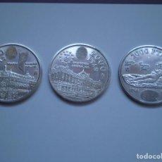 Monedas Juan Carlos I: 3 MONEDAS 2000 PESETAS PLATA DEL 2004, 2005 2006 CADA UNA 18 GR (AG 925). Lote 225024640