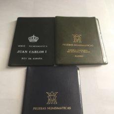 Monedas Juan Carlos I: F.N.M.T LOTE PRUEBAS NUMISMATICAS 1975 *76 , *77 Y *79 S/C.. Lote 225516580