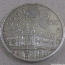 Monedas Juan Carlos I: 2000 PESETAS PLATA DE LEY AÑO 1994. Lote 225692010