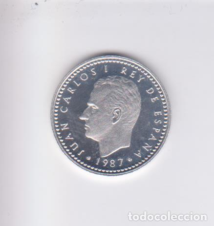 MONEDAS - JUAN CARLOS I - 1 PESETA 1987 - (E-87) PG-404 (PROOF) (Numismática - España Modernas y Contemporáneas - Juan Carlos I)
