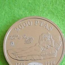 Monedas Juan Carlos I: MONEDA DE 2000 PESETAS DEL 1996 DE PLATA. UNA JOYA PRECIOSA. Lote 226243788