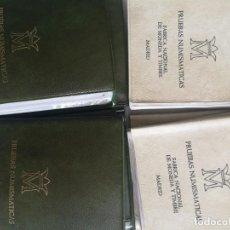 Monedas Juan Carlos I: LOTE CARTERA DE MONEDA 1956 ESTRELLAS 76 Y 77 LOTE DE 20 CARTERA. Lote 226251195