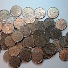 Monnaies Juan Carlos I: 46 MONEDAS 5 PESETAS, ISLAS BALEARES,MURCIA, ARAGON, ASTURIAS,MURCIA,LA RIOJA, OTRAS 1989-2001.. Lote 226631485
