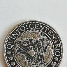 Monedas Juan Carlos I: MONEDA DE 500 PESETAS DE PLATA DE 1990 DEL QUINTO CENTENARIO. PLATA DE LEY. Lote 226788675
