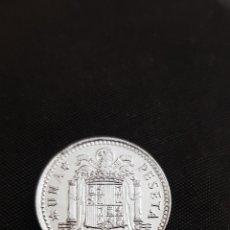Monedas Juan Carlos I: 1 PESETA 1975 * 79 PLATEADA. Lote 227914505