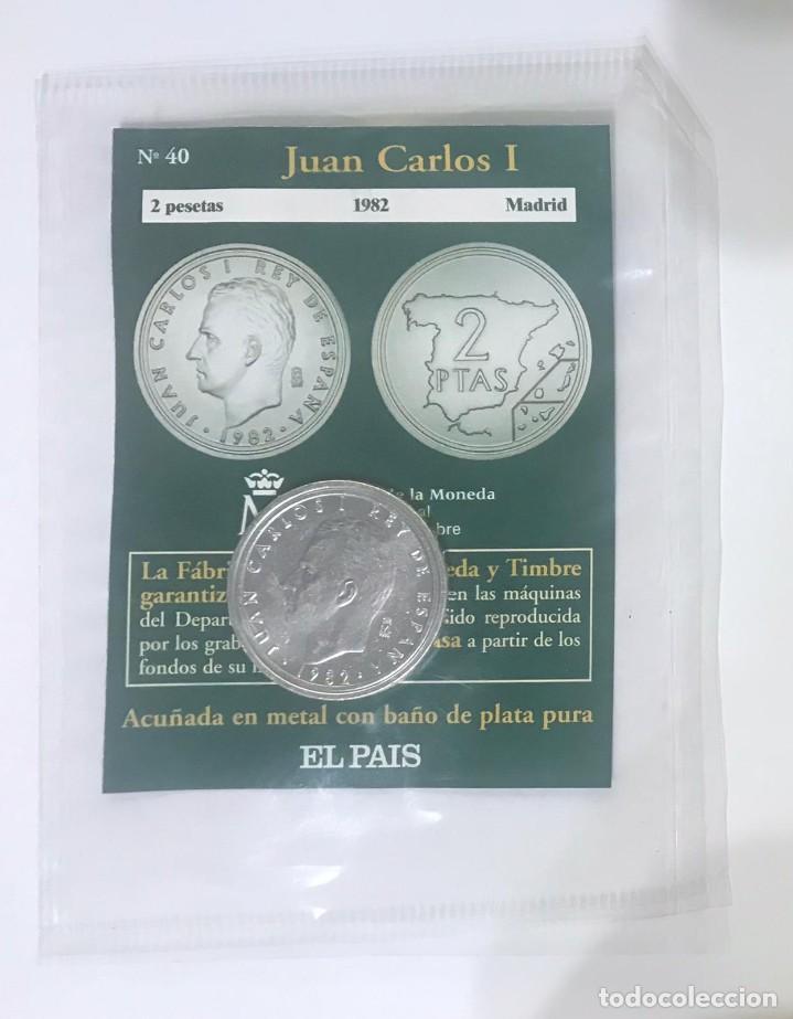Monedas Juan Carlos I: 2 PESETAS DEL AÑO 1982 - FÁBRICA NACIONAL DE MONEDA Y TIMBRE - Foto 3 - 227929205