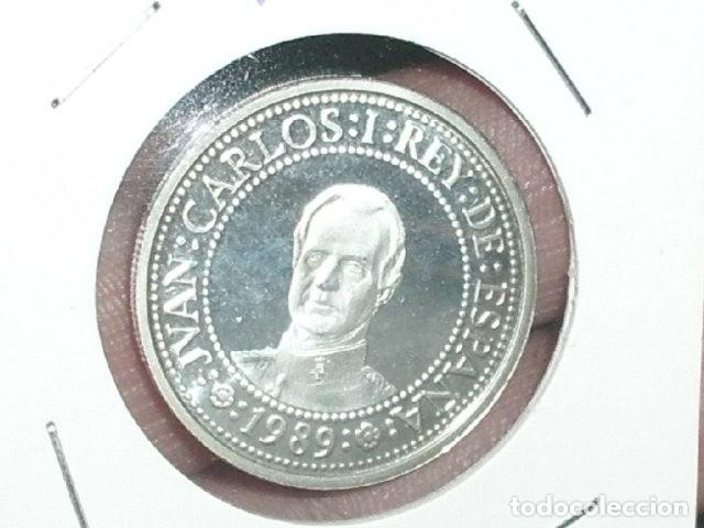 JUAN CARLOS I * V CENTENARIO 1ª SERIE * 500 PESETAS 1989 * PLATA (Numismática - España Modernas y Contemporáneas - Juan Carlos I)