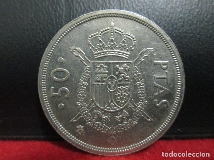 50 PESETAS 1982 (Numismática - España Modernas y Contemporáneas - Juan Carlos I)