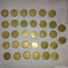 Monedas Juan Carlos I: 32 MONEDAS DE 1 PESETA JUAN CARLOS PUNTO SOBRE LA Ñ. Lote 229312288