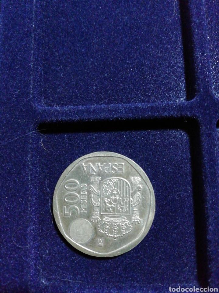 Monedas Juan Carlos I: Moneda 500 pts año 2001 - Foto 2 - 230236685