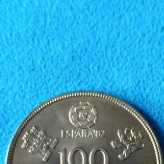 Monedas Juan Carlos I: ESPAÑA 100 PESETAS, 1980 COPA MUNDIAL DE LA FIFA - ESPAÑA, 1982 SIN CIRCULAR. Lote 230968785