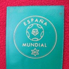 Monedas Juan Carlos I: CARTERA DE PRUEBAS NUMISMÁTICAS 1980 MUNDIALES DE FÚTBOL. Lote 232729895