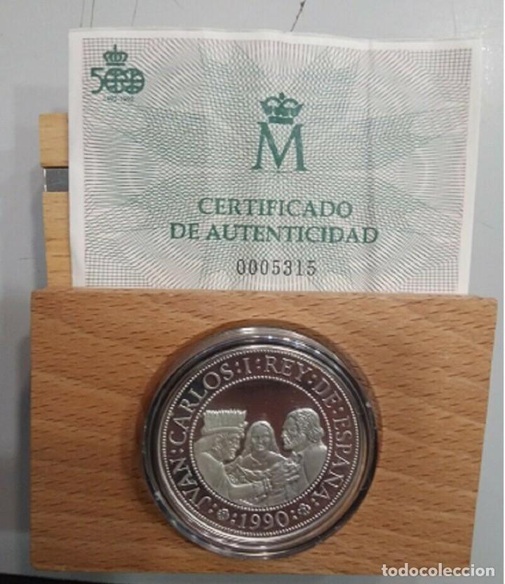 5000 PESETAS 1990 V CENTENARIO FDC (Numismática - España Modernas y Contemporáneas - Juan Carlos I)