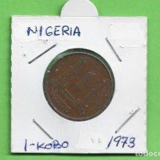 Monedas Juan Carlos I: NIGERIA 1 KOBO 1973. BRONCE KM#8.1. Lote 234863585