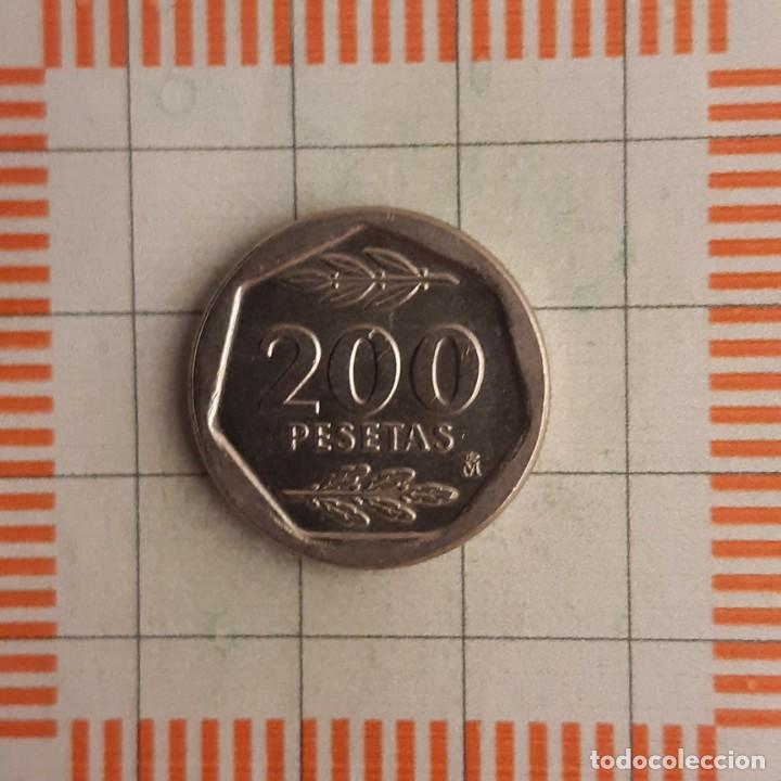 Monedas Juan Carlos I: JUAN CARLOS I, 200 PESETAS 1987 - Foto 2 - 234940940