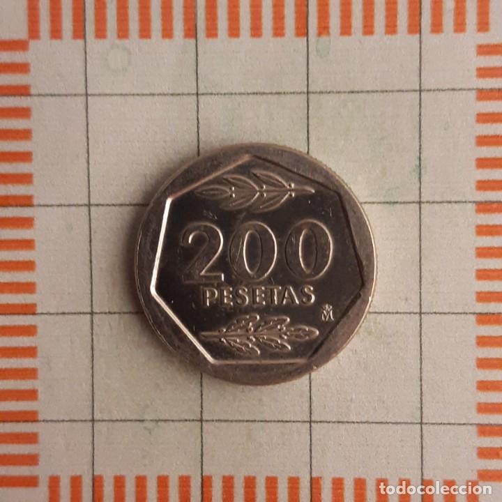 Monedas Juan Carlos I: JUAN CARLOS I, 200 PESETAS 1986 - Foto 2 - 234942150