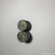 Monedas Juan Carlos I: LOTE 15 MONEDAS 200 PESETAS 1987 EBC MBC. Lote 235153610