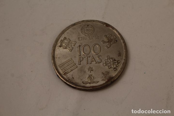 MONEDA 100 PESETAS ESPAÑA 82 DE 1980 (Numismática - España Modernas y Contemporáneas - Juan Carlos I)
