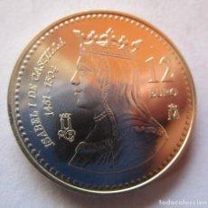 Monedas Juan Carlos I: ISABEL I DE CASTILLA . 12 EUROS DE PLATA DEL AÑO 2004 . TOTALMENTE NUEVA. ENVIO 0,90 EUROS. Lote 235870830